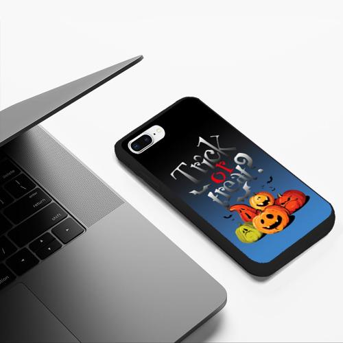 Чехол для iPhone 7Plus/8 Plus матовый Кошелёк или жизнь Фото 01