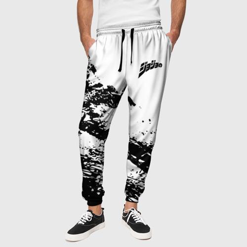 Мужские брюки 3D JoJo logo Фото 01