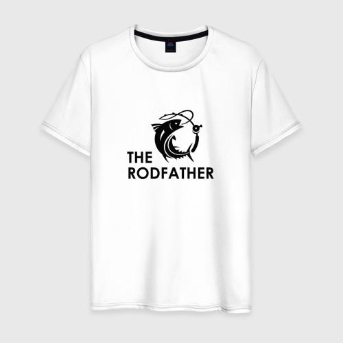 Мужская футболка хлопок Рыбалка Rodfather Фото 01