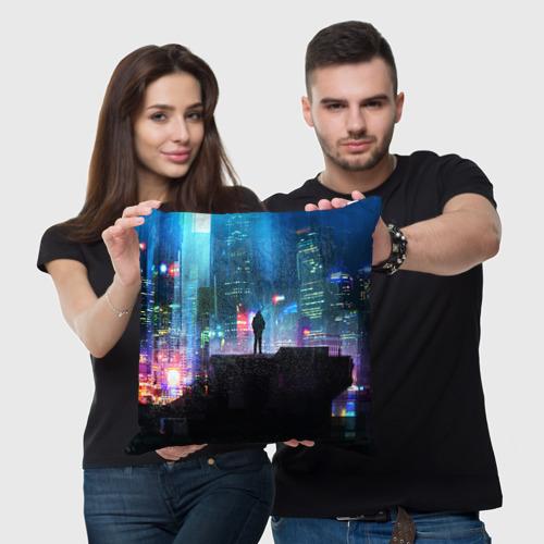 Подушка 3D CITY NEON Фото 01