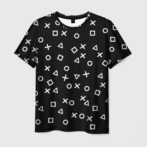 Мужская футболка 3D Геометрические фигуры Фото 01