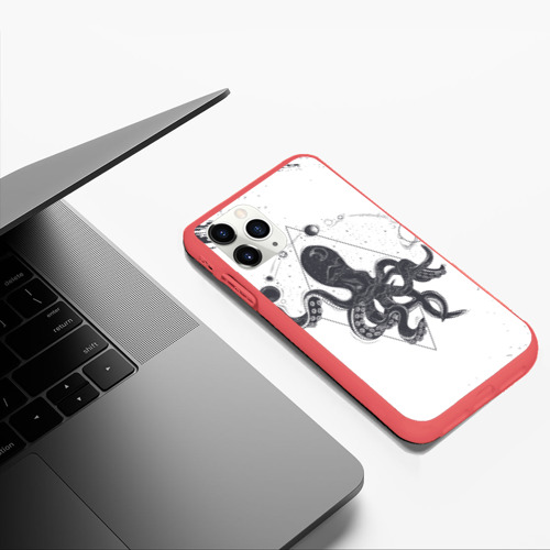 Чехол для iPhone 11 Pro Max матовый Ктулху   Cthulhu (Z) Фото 01