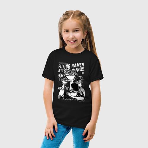 Детская футболка хлопок Вторжение Рамена Фото 01