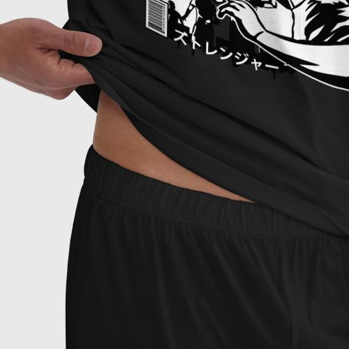 Мужская пижама хлопок Вторжение Рамена Фото 01