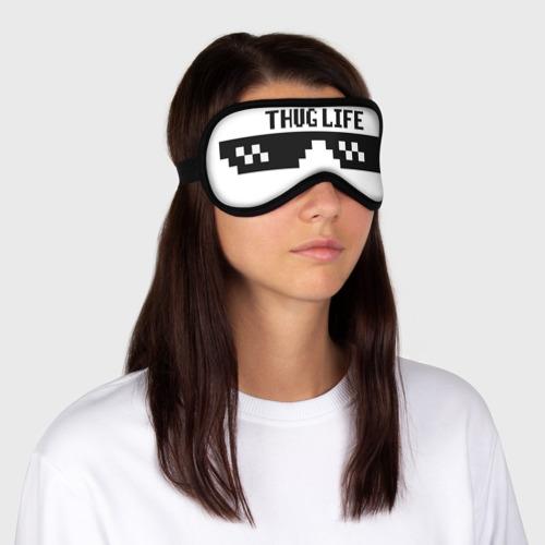 Маска для сна 3D Thug life  Фото 01