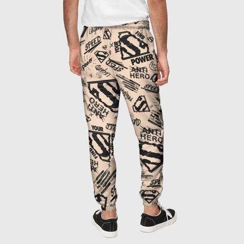 Мужские брюки 3D Find your power Фото 01