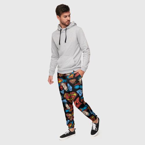 Мужские брюки 3D Up up and away Фото 01
