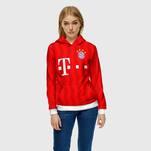Женская толстовка 3D FC Bayern Munchen Фото 01