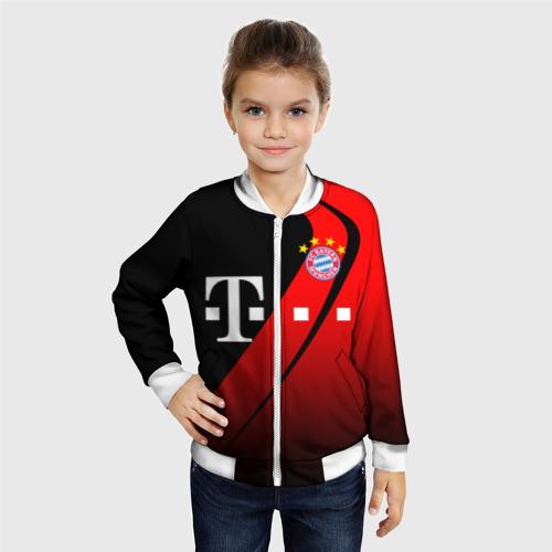 Детский бомбер 3D FC Bayern Munchen Форма Фото 01
