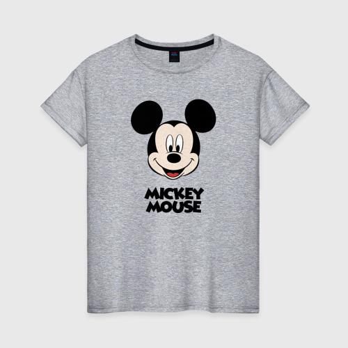 Женская футболка хлопок Микки Маус Фото 01
