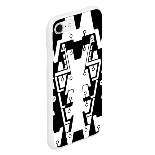 Чехол для iPhone 7/8 матовый КИБЕРПАНК,ФАНТАСТИКА,БУДУЩЕЕ, Фото 01