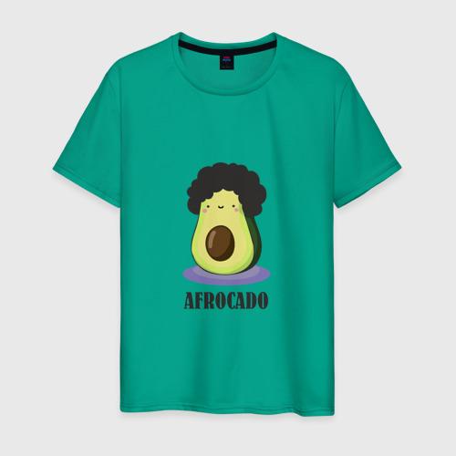 Мужская футболка хлопок Авокадик Фото 01