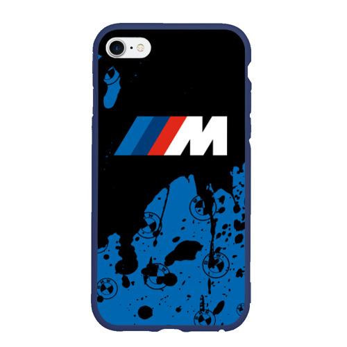 Чехол для iPhone 6/6S матовый BMW / БМВ Фото 01