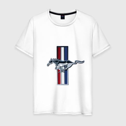 Мужская футболка хлопок Ford Mustang Фото 01