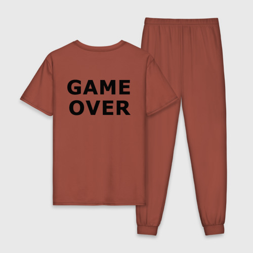 Мужская пижама хлопок GAME OVER Фото 01