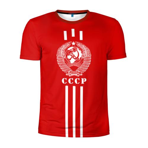 Мужская футболка 3D спортивная СССР Фото 01