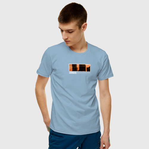 Мужская футболка хлопок Новый город Фото 01