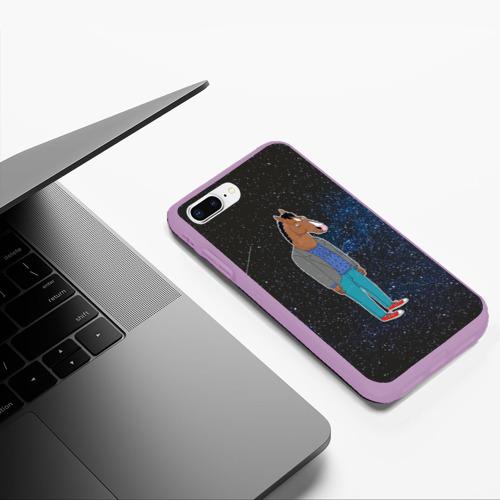 Чехол для iPhone 7Plus/8 Plus матовый galaxy BoJack Фото 01