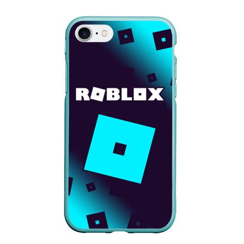 Чехол для iPhone 7/8 матовый ROBLOX / РОБЛОКС Фото 01