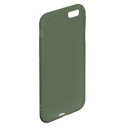 Чехол для iPhone 6/6S матовый Черно-белый градиент Фото 01