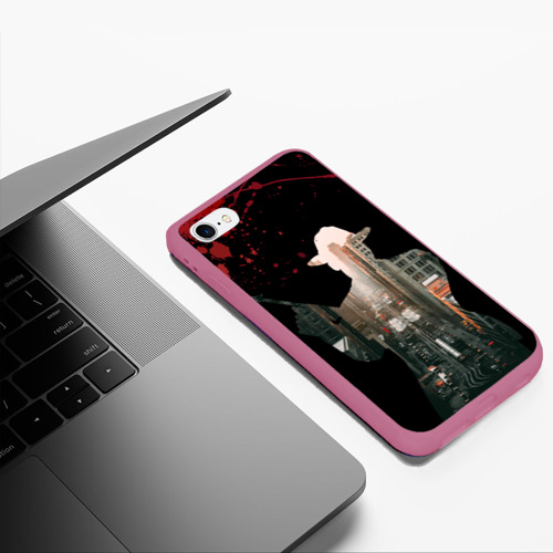 Чехол для iPhone 6Plus/6S Plus матовый Гангстер 3 Фото 01