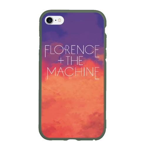 Чехол для iPhone 6/6S матовый FLORENCE AND THE MACHINE Фото 01