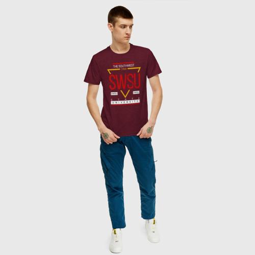 Мужская футболка хлопок SWSU Фото 01