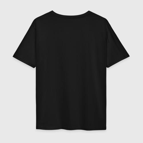 Мужская футболка хлопок Oversize VANSAMA OFFICIAL Red Фото 01