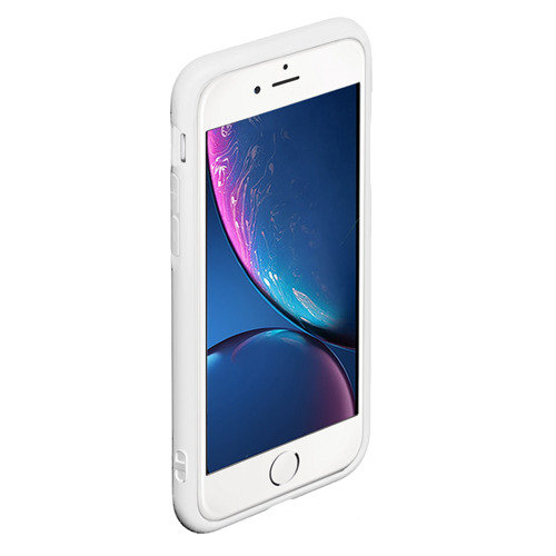 Чехол для iPhone 6Plus/6S Plus матовый Синяя Небо Фото 01