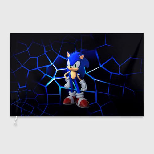 Флаг 3D Sonic Фото 01