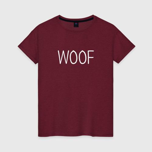 Woof белый