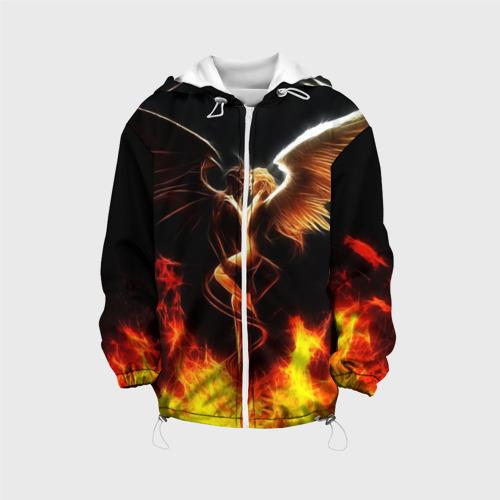 Детская куртка 3D Angel and demon 140
