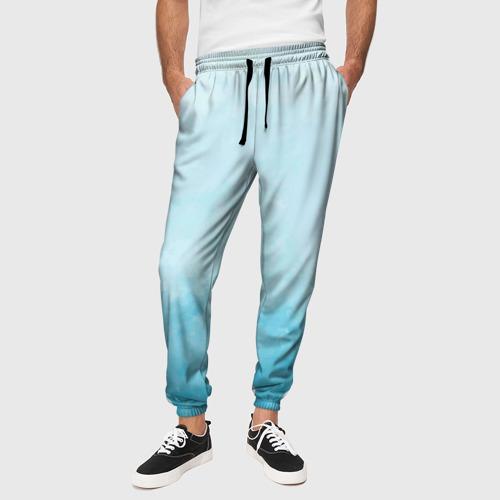 Мужские брюки 3D Небо Фото 01