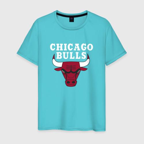 Мужская футболка хлопок Chicago Bulls Фото 01