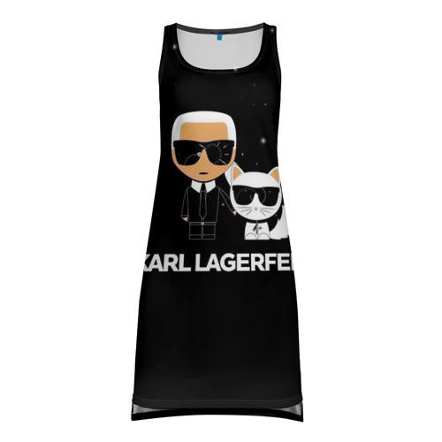 Платье-майка 3D Karl Lagerfeld Фото 01