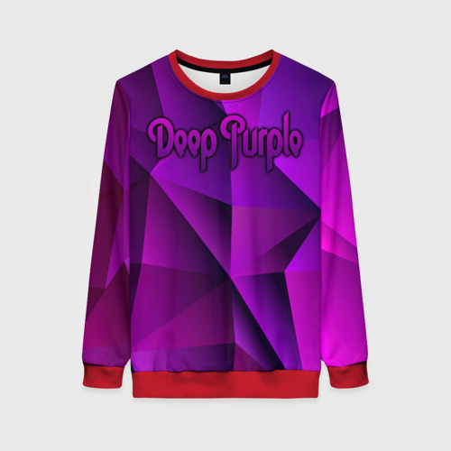 Женский свитшот 3D Deep Purple Фото 01