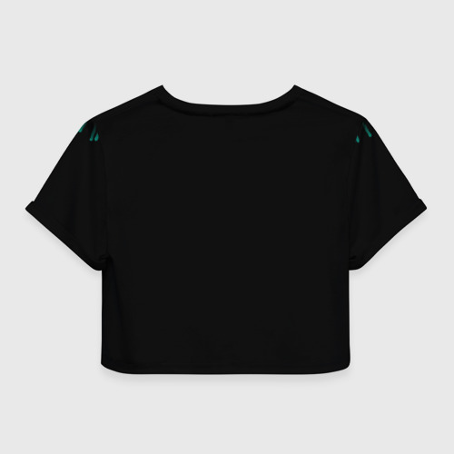Женская футболка Crop-top 3D 30 лет Фото 01
