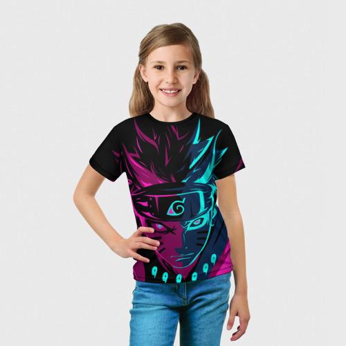 Детская футболка 3D НЕОНОВЫЙ НАРУТО | NEON NARUTO Фото 01