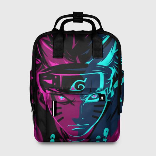 Женский рюкзак 3D НЕОНОВЫЙ НАРУТО | NEON NARUTO Фото 01