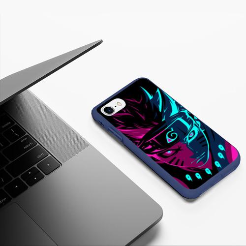 Чехол для iPhone 7/8 матовый НЕОНОВЫЙ НАРУТО | NEON NARUTO Фото 01