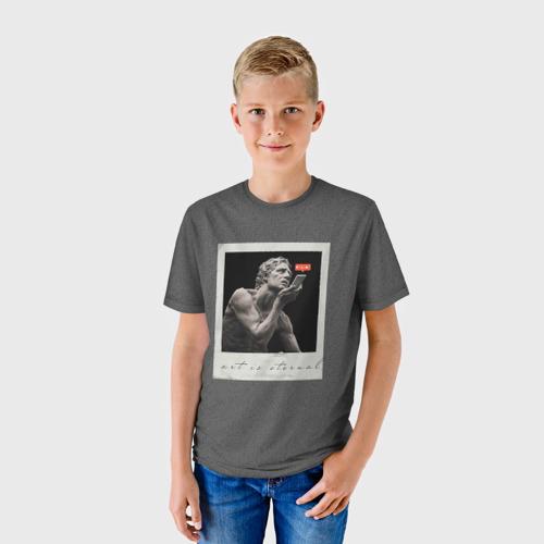 Детская футболка 3D art sculpture Фото 01