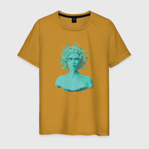 Мужская футболка хлопок Медуза Фото 01