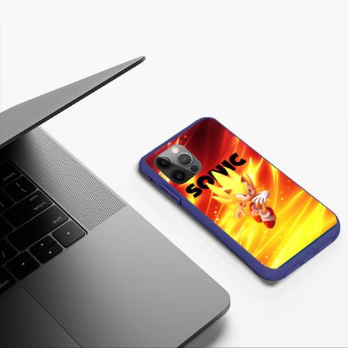 Чехол для iPhone 12 Pro SONIC / СОНИК Фото 01