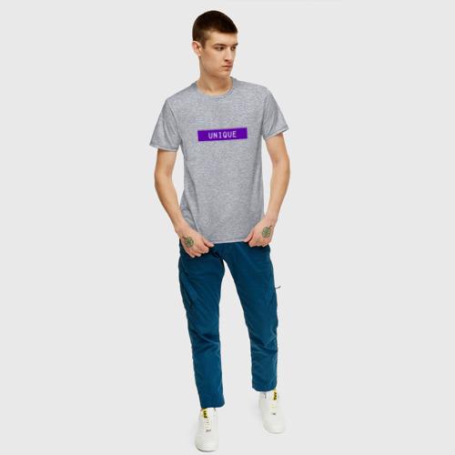 Мужская футболка хлопок Уникальный Фото 01