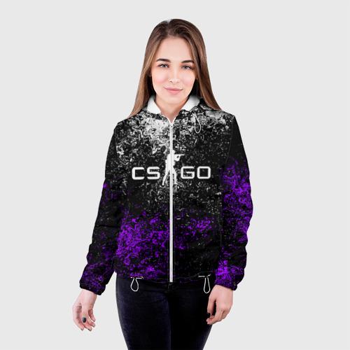 Женская куртка 3D CS GO Фото 01