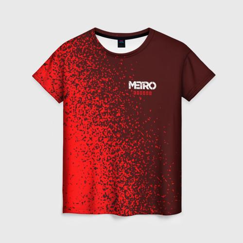 Женская футболка 3D METRO EXODUS / МЕТРО ИСХОД Фото 01