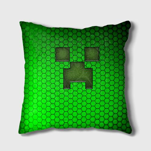 """Подушка 3D Крипер из игры """"Minecraft"""" Фото 01"""