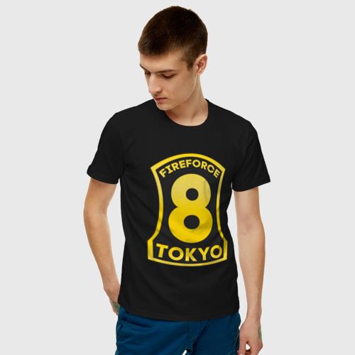 Мужская футболка хлопок Логотип Пламенной Бригады Фото 01