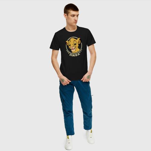 Мужская футболка хлопок Young Simba Фото 01