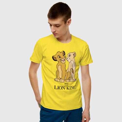 Мужская футболка хлопок Simba & Nala Фото 01